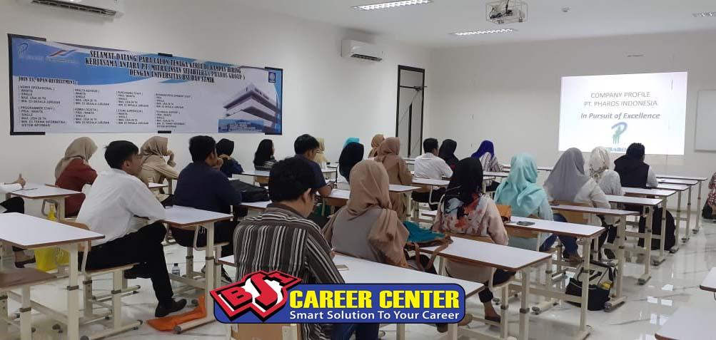 <p>Campus Recruitment dari perusahaan dengan Universitas Bina Sarana Informatika.</p>